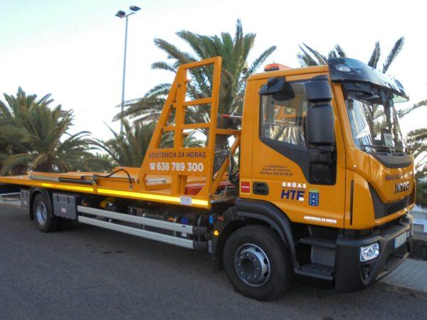 Servicios de Asistencia y Rescate en Carretera, Lanzarote.